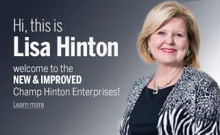 Hi, I'm Lisa Hinton
