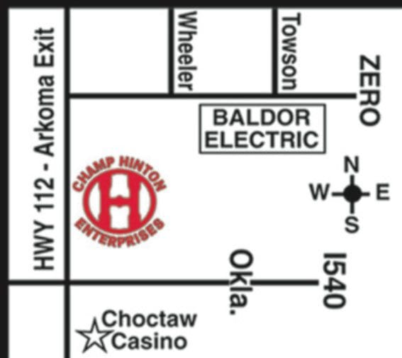 Champ Hinton Enterprises Location